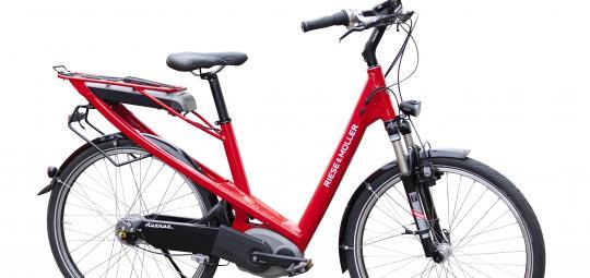 komfort e bike f r die stadt pressedienst fahrrad. Black Bedroom Furniture Sets. Home Design Ideas