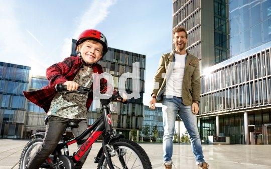 Sicherheit, sportliche Optik und kindgerechte Funktion, verpackt in ein gelungenes Fahrrad, sorgen für den perfekten Einstieg ins Radlerleben.