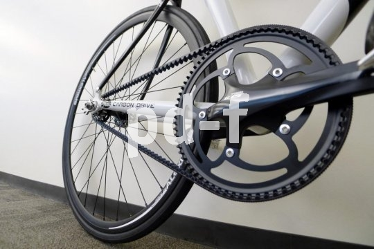 Selbst bei kleinen Laufrädern können Riemenantriebe verbaut werden.