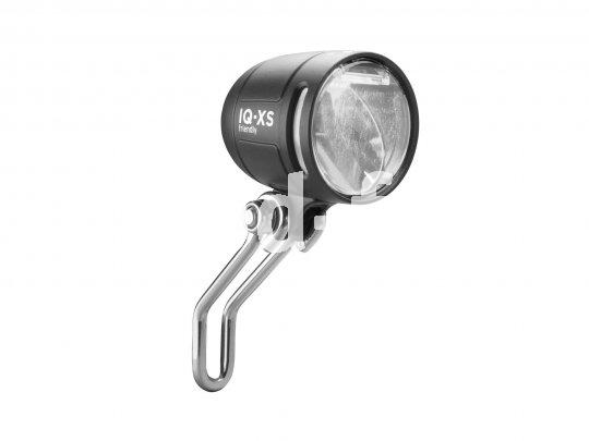 Der Tagfahrlicht-Scheinwerfer IQ-XS von Busch & Müller darf dank seiner speziellen Bauweise auch tagsüber kräftig leuchten. Gut für die Sichtbarkeit im Verkehr!