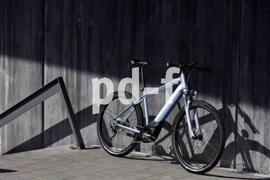 """""""BMW Active Hybrid E-Bike"""": In diesem Fahrrad steckt viel Automobil. Antriebshersteller Brose ist ursprünglich Spezialist für Elektromotoren in der Autobranche, BMW reklamiert Technik, Fahrspaß und Design."""