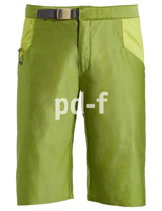 Diese elastische, schnelltrocknende Hose von Vaude ist aus einer speziellen Kunstfaser basierend auf Rizinusöl und Recycling-Polyamid hergestellt.