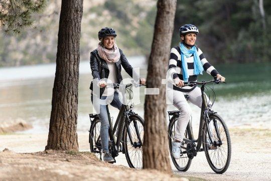 """Trekking-Bikes wie das """"Domingo"""" von Winora sind für den Alltag wie für den Ausflug konzipiert: spurtreu, belastbar und bequem."""