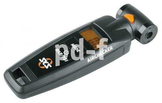 Unverzichtbar für alle, die das Optimum an Haltbarkeit und Grip aus ihren Reifen herausholen wollen: ein handliches Manometer.