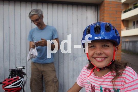 Nach dem Fahrradcheck kann die Tour los gehen.