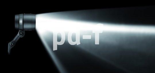 Einfach nur hell ist nicht alles - das Licht des Fahrradscheinwerfers muss auch gebündelt werden, um die Fahrbahn gut auszuleuchten.