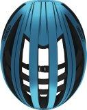 """Sicherheit geht vor allem anderen, aber deswegen darf der Fahrradhelm gern auch eine schicke Farbe haben, wie etwa dieser """"Aventor"""" von Abus in Steelblue. Das Auge radelt schließlich mit ..."""