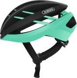 """Wer seinen Helm gern hart ´rannimmt, freut sich über einen Unterkantenschutz (hier beim """"Aventor"""" von Abus), der ihn unempfindlicher gegen mechanische Beanspruchung macht."""