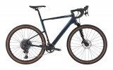 """Hier ist Mountainbike-Technik an Bord. Die einseitige (""""Lefty-"""")Federgabel macht dieses Rennrad besonders geländefähig."""