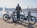 Ein E-Bike ist ein optimaler Begleiter für eine Stadtrundfahrt.