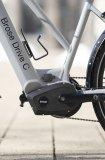 """Beim E-Bike zeigt sich der zunehmende Trend der Ausdifferenzierung: Die Motorenhersteller bieten unterschiedliche Motoren mit zur Radgattung passenden Charakteristika an. Hier der Mittelmotor """"Brose Drive C"""" von Brose für Stadträder mit gemäßigtem Drehmoment, harmonischem Ansprechverhalten und hoher Reichweite."""