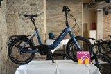 """Faltbar, wendig und elektrisch - das ab 2020 erhältliche """"Upstreet 2"""" des schweizerischen E-Bike-Spezialisten Flyer."""