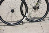 """Dank des """"Airless""""-Systems sind Scherben für Radfahrer kein Problem mehr: Statt des herkömmlichen Luftschlauchs findet sich im Reifen ein Kunststoffring, dem nie die Luft ausgeht."""