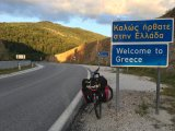 Die griechische Grenze ist erreicht.