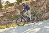 Ein ganz eigenes Gesicht im großen Angebot der E-Bikes hat das vollgefederte Modell Homage der Firma Riese & Müller. Es ist auf die Nutzung als Stadtrad hin ausgelegt und verfügt u.a. über einen in den unverwechselbaren Rahmen integrierten Akku.
