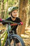 Auch für Kinder kann das Fahrrad ein echtes Sportgerät sein. Früh übt sich, wer später mal ganz vorn mitfahren will.