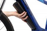 Gut in den Rahmen integrierte Akkus sind sowohl optisch ein Gewinn als auch besser gegen Stöße etc. geschützt.