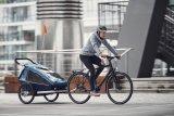 """Viele Familien setzen auf einen Kinderanhänger - verständlich, denn er ist die sicherste Methode, ein Kind im Straßenverkehr zu transportieren. Auch das 2018 neue Modell """"Kid Plus"""" von Croozer ist als Ein- oder Zweisitzer erhältlich."""