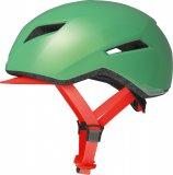 Mit seinen markanten Linien und der flächigen Gestaltung ist dies ein überaus moderner Helm, dessen Formensprache sportliche wie Komfort-orientierte Radfahrer anspricht.