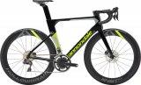 """Rennräder werden aerodynamisch stetig verbessert, wie hier das """"System Six"""" von Cannondale."""