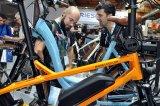 Als Weltleitmesse in Sachen Fahrrad bietet die Eurobike Platz und Raum für intensive Fachgespräche.