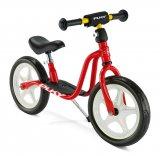 Dieses Laufrad glänzt mit einem richtigen Ständer, mit dem es ganz fahrradmäßig aufrecht abgestellt wedren kann.
