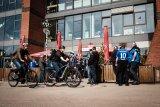 Mit dem E-Bike zum Fußballstadion bietet gerade bei An- und Abreise viele Vorteile.
