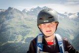 Ein Helm darf auf dem Trail nicht fehlen.