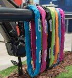 Je beliebter das Fahrrad im Allgemeinen und das eigene im Besonderen, desto wichtiger ist ein gutes Schloss. Und wenn es auch noch farblich passt...