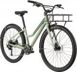 """Cannondales Modell """"Treadwell"""" ist ein Citybike mit Tiefeinstieg und Spaßfaktor. Es ist auch mit Frontgepäckträger erhältlich."""