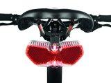 Auch ohne Schutzbleche am Rad lässt sich ein Rücklicht montieren.