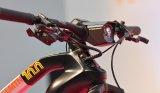 """Im E-Bike-Bereich steht die Entwicklung nicht still - haibike präsentierte auf der Eurobike 2018 seine neue """"Flyon""""-Reihe mit selbst entwickeltem Antrieb samt Peripherie wie Lenkerdisplay und Beleuchtung."""