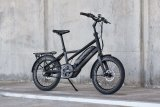 Ein klares Stadtrad-Konzept mit niedrigem Durchstieg und aufrechter Sitzposition ist die Grundlage für dieses E-Citybike von Hersteller Winora.