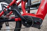 """Motorenhersteller Brose bringt mit dem """"Brose Drive S-mag"""" einen besonders kleinen, leistungsfähigen Mittelmotor auf den Markt, der sich sehr gut in Fahrradrahmen integrieren lässt."""