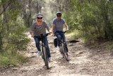 Mit dem Trekkingrad ist das Ende des Asphalts nicht das Ende der Tour; erst recht nicht, wenn auch noch ein Motor hilft.