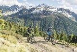 Kalenderbild-Momente einer Mountainbike-Tour: Dafür lohnt sich dann der Schweiß der langen Auffahrt.