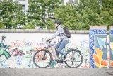 E-Bike-Antriebsspezialist Brose bietet jeweils optimal konfigurierte Antriebe für unterschiedliche Einsatzbereiche. Hier ein Pedelec im städtischen Umfeld, ausgestattet mit einem Motor in einem Aluminiumgehäuse.
