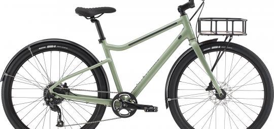 """Das """"Treadwell"""" von Hersteller Cannondale ist ein Citybike mit Spaßfaktor. Es ist auch mit Frontgepäckträger erhältlich."""