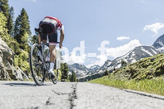 Am Ende einer langen Rampe reicht der Blick meist nur noch bis kurz vor das Vorderrad. Schade eigentlich.