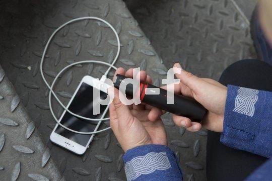 Moderne Akku-Beleuchtung fürs Fahrrad funktioniert mitunter auch als Powerbank für portable Geräte.