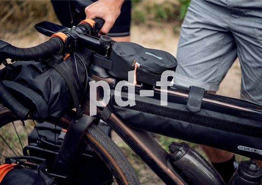 Zum Bikepacking gehört ein Satz rahmen- bzw. lenkerfester Packtaschen, die auch auf gröberem Untergrund nicht schwingen oder schlackern.