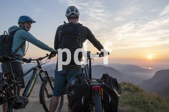 Auch auf Tour jenseits des Asphalts zuverlässige Begleiter: Hochwertige E-Bikes kennen wenig Grenzen, was ihren Einsatzbereich betrifft.