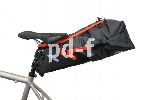 Da geht was rein: Seatpacks können eine ganze Menge Zuladung verkraften, müssen dann aber gelegentlich mit entprechenden Riemen gesichert werden