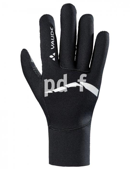 """Das Vaude-Handschuhmodell """"Chronos Glove II"""" aus Neopren hat eine eng anliegende Stulpe gegen Zugluft und ist gleichzeitig atmungsaktiv - gerade in der Übergangszeit besonders angenehm."""