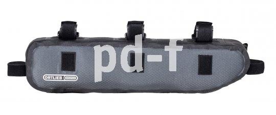 """Das """"Top Tube Frame Pack"""" von Ortlieb ist eine kompakte Rahmentasche zur Befestigung am Oberrohr."""