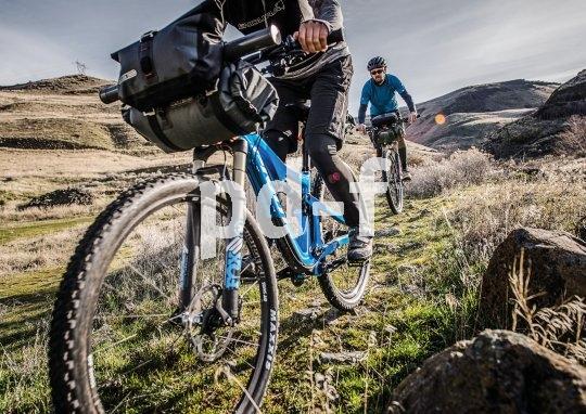 Bikepacking-Taschen sind prädestiniert für Mountainbike-Anwendungen.