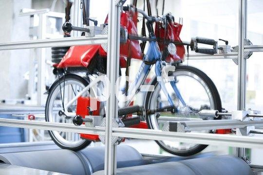 Dauerbelastungstests sorgen dafür, dass die Härten das Alltags spurlos am Kinderrad vorübergehen.