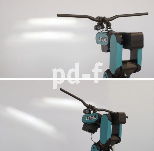 Auch beim Fahrrad ist ein in die Kurve einschwenkender und so der Fahrtroute vorauslaufender Lichtkegel von großem Vorteil. Bisher ist er nur für E-Bikes verfügbar.