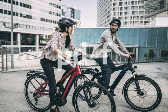 E-Bikes werden für jüngere Zielgruppen als Pendlerfahrzeug interessant.