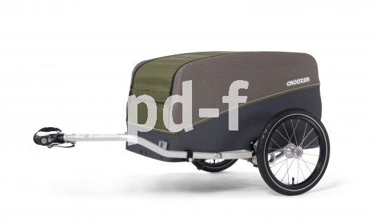 """Praktischer Fahrradanhänger für Lasten und Gepäck """"Cargo Tuure"""" (520 Euro, Croozer, verfügbar ab April 2021)"""